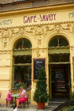 Exterior of Cafe Savoy & Exterior of Cafe Savoy - Picture of Cafe Savoy Prague - TripAdvisor