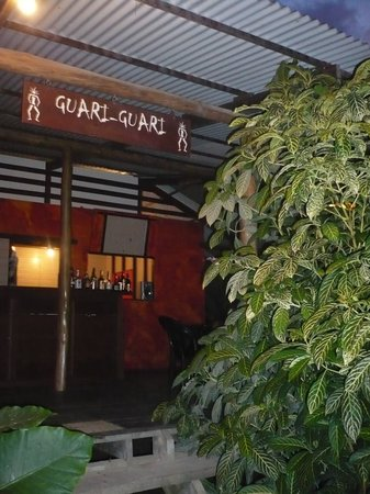 Isla Colon, Panama: restaurant guari-guari