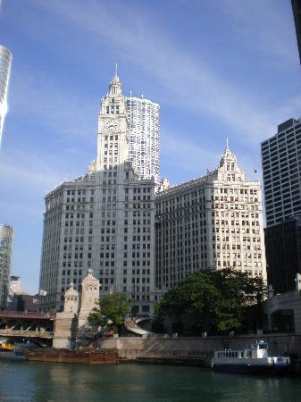 Chicago Line Cruises: Wrigley Building