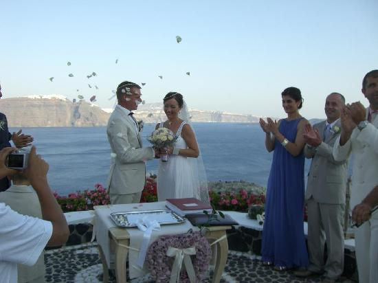 Andronis Luxury Suites: After Ceremony