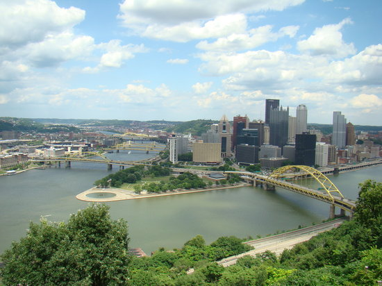 Pittsburgh, Pennsylvanie : View from top of incline