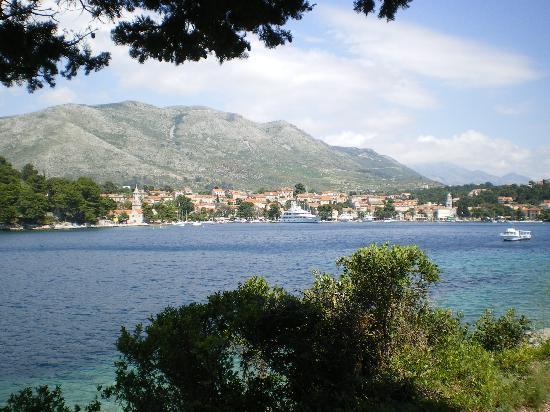 Hotel Supetar: bay of Cavtat