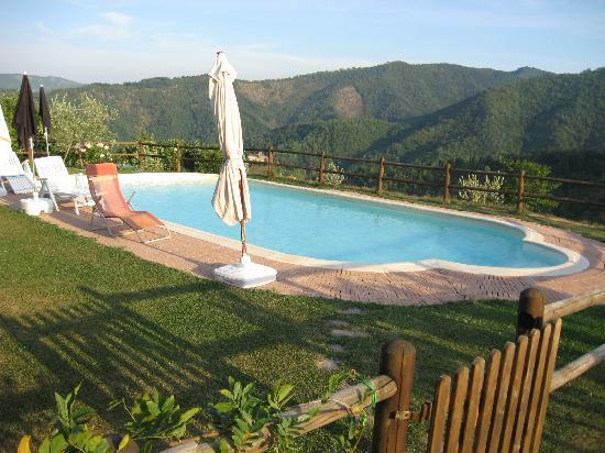 Agriturismo Selvapiana : la piscina
