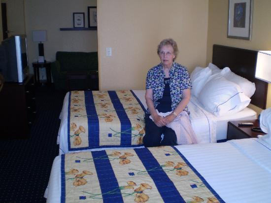 SpringHill Suites Cedar City: SpringHill Suites 2 bedded room