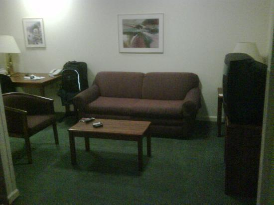 Extended Stay America - Atlanta - Peachtree Corners: Living room from bedroom