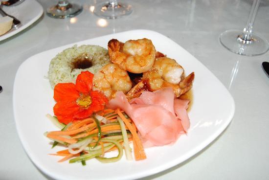 Shelburne Inn: prawns 7-09