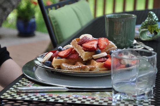 10 Fitch Luxurious Romantic Inn: Fabulous breakfast