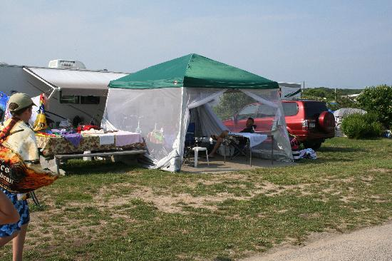 Montauk, Nowy Jork: Our campsite at Hither Hills