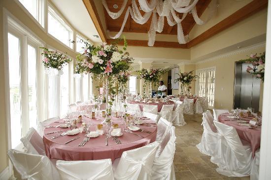 Grand Isle Resort & Spa : wedding reception decor