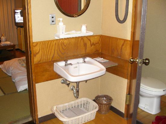 โรงแรมเอโดะยะ: Vue des sanitaires