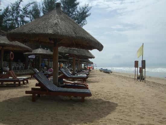 Tianfuyuan Resort: beach