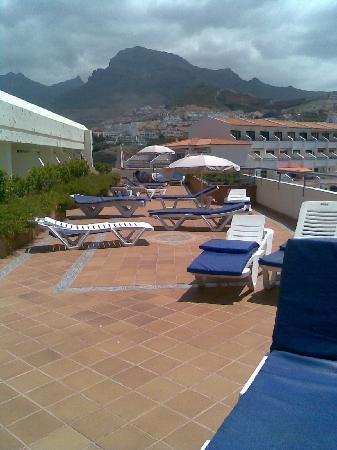 Hovima Santa Maria : looking back along the patio