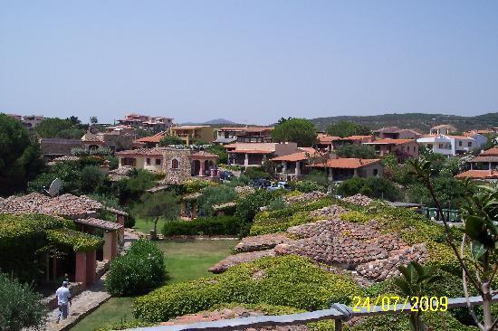 Hotel Resort & SPA Baia Caddinas: dal balcone della suite