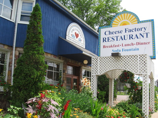 The Cheeze Factory Restaurant: Cheese Factory Exterior