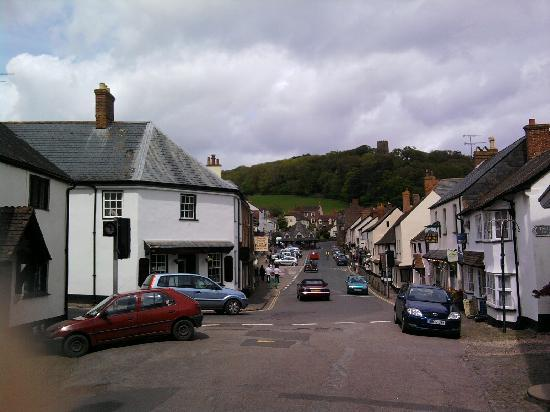 Dunster, UK: the nearby village