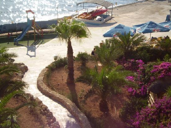 Ramla Bay Resort: from another angle
