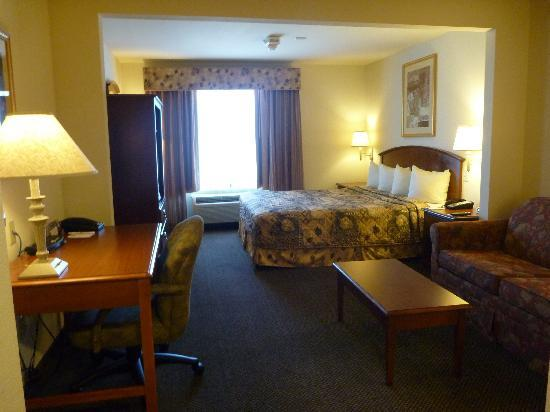 San Mateo, Californien: King Bed Hotel Room