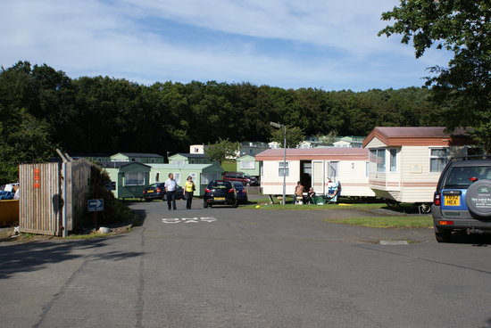 Coylton, UK: Some of the caravans