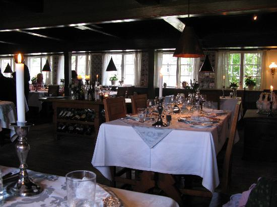 Fanoe, Denmark: The restaurant