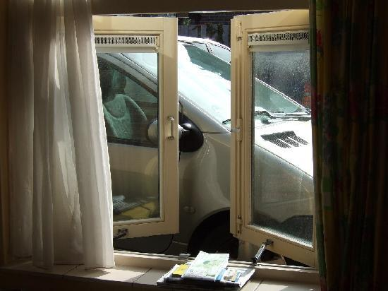 Hotel Bergen aan Zee : Blick aus WZ-Fenster
