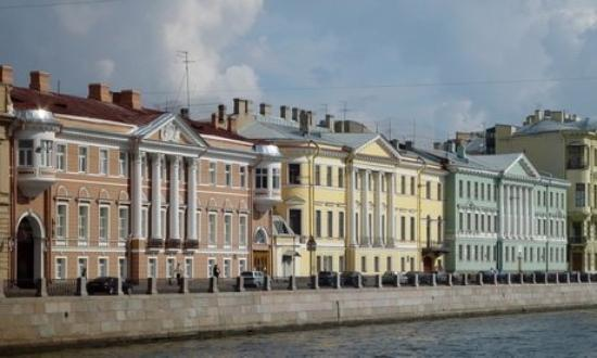 Sui canali di san pietroburgo russia foto di san - San pietroburgo russia luoghi di interesse ...
