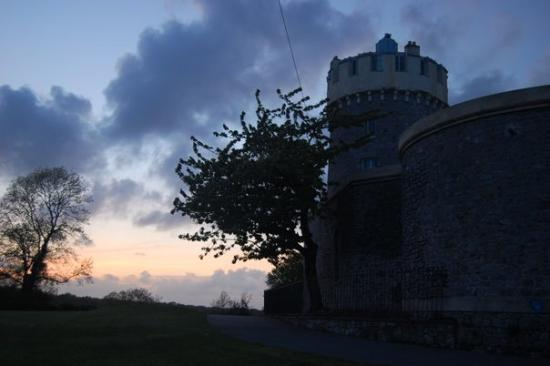Clifton Observatory and Caves: The observatory on the Downs