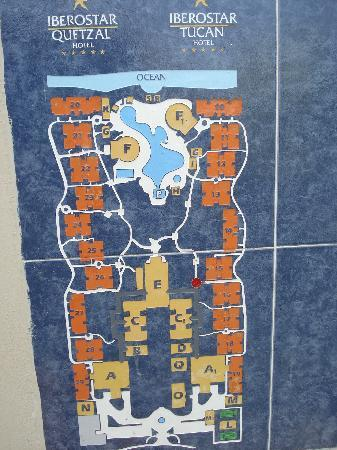 Property Map We Were Building 10 Tucan Side Picture Of Iberostar Tucan Hotel Playa Del