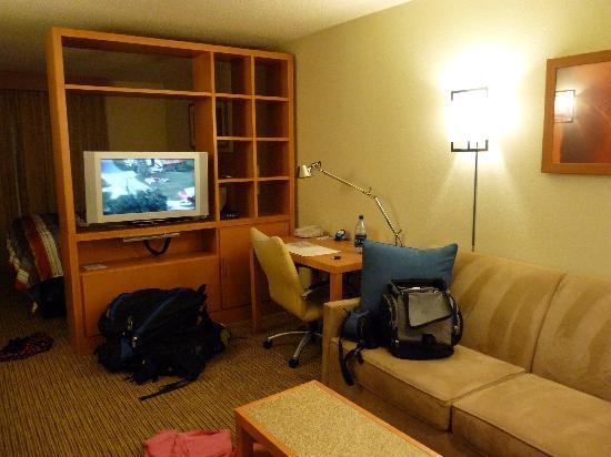 Hyatt House Houston-West/Energy Corridor : Living area