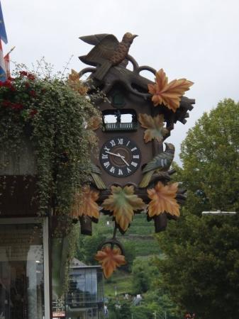 Sankt Goar, เยอรมนี: Cockoo Clock in St Goar.