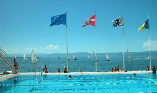 Thonon-les-Bains, Francia: piscine municipale de thonon