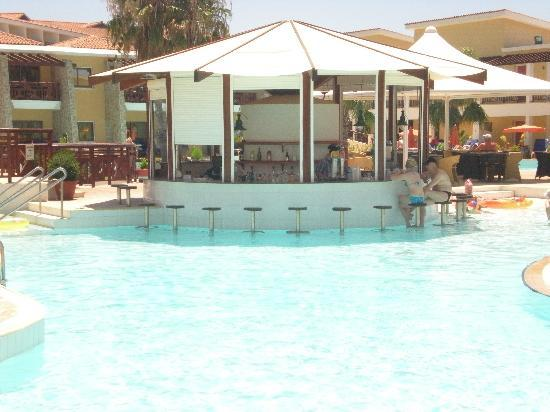 Atlantica Aeneas Hotel : The swim up bar - from our room