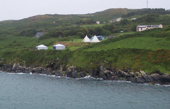 Cape Clear Island, İrlanda: Cape Clear Camp Site.
