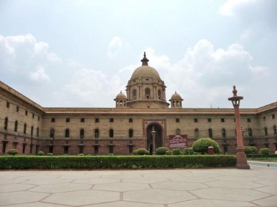 New Delhi, Indien: Sansad Bhavan