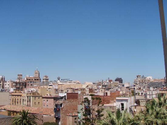 Casa Camper Hotel Barcelona: Vista desde la terraza