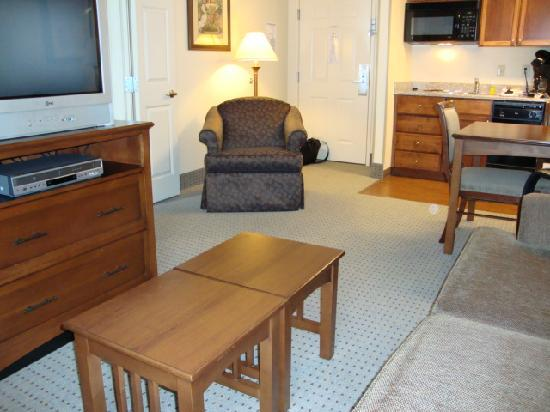 Staybridge Suites Memphis - Poplar Ave East : Living room