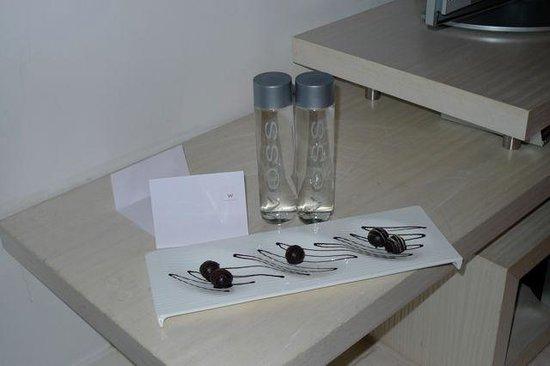 دابليو ميكسيكو سيتي: Homemade chocolates as a welcome gift!