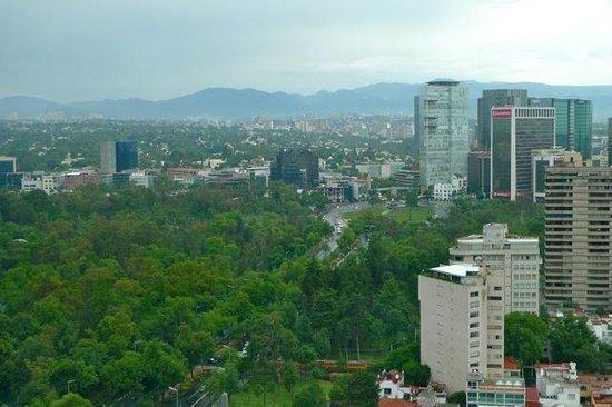 دابليو ميكسيكو سيتي: View from the 22nd floor of the W Mexico City