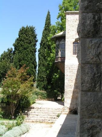 Beiteddine, Libano: Garten Des Palast Mit Blick Auf Den Erker