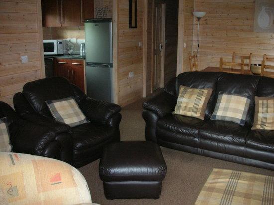 Belan Bach Lodges: living area