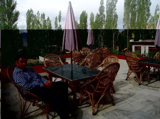 Hotel Holiday Ladakh: Terrace