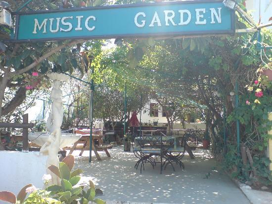 The Peacock Pub: The beer garden