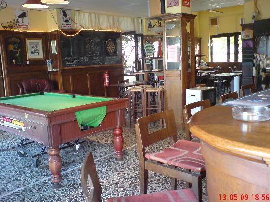 The Peacock Pub: Inside the pub