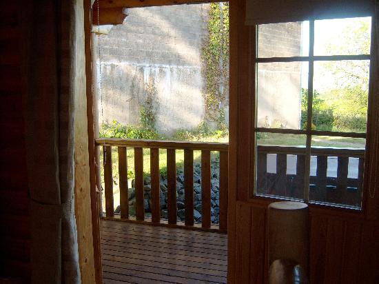 Lochwood Farm Steading: French doors