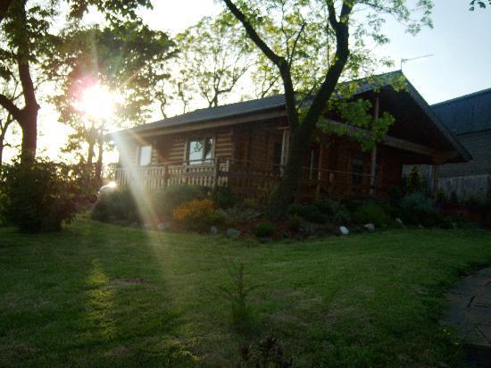 Lochwood Farm Steading: Log cabin