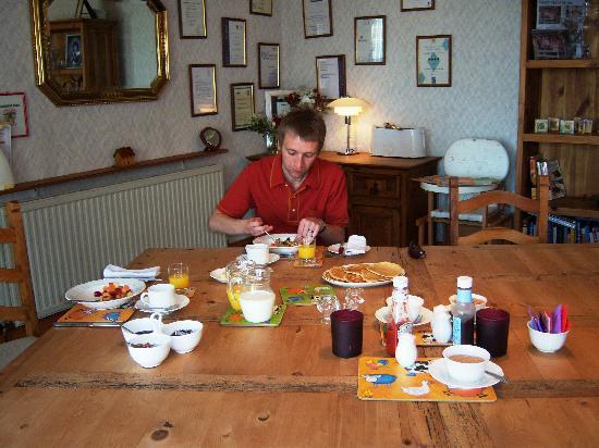 Lochwood Farm Steading: yummy breakfast