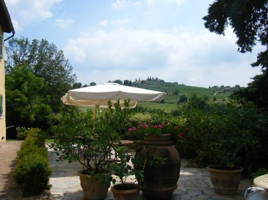 Il Colombaio di Santa Chiara: The beautiful scenery