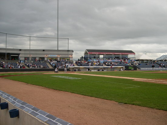 Rockford Riverhawks Baseball: Home plate