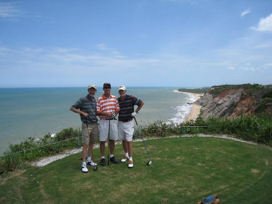 Villas de Trancoso Hotel: Ocean view golf course