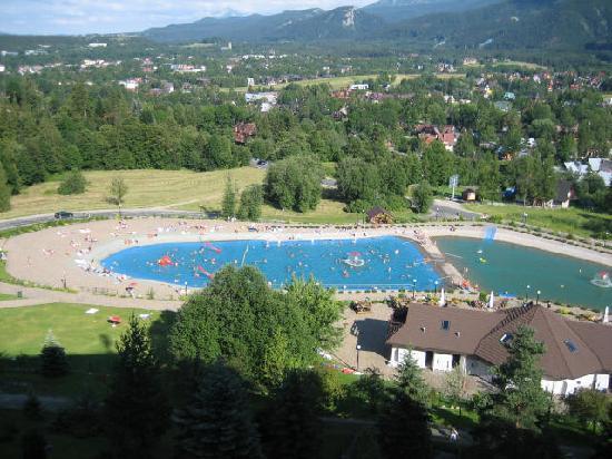 Mercure Kasprowy Zakopane: The outdoor pool
