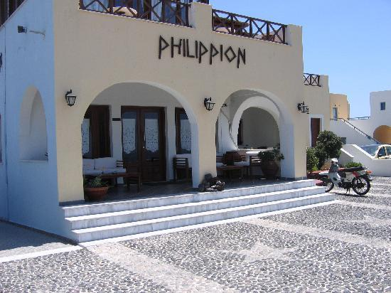 Philippion Boutique Hotel : Exterior View of the hotel.